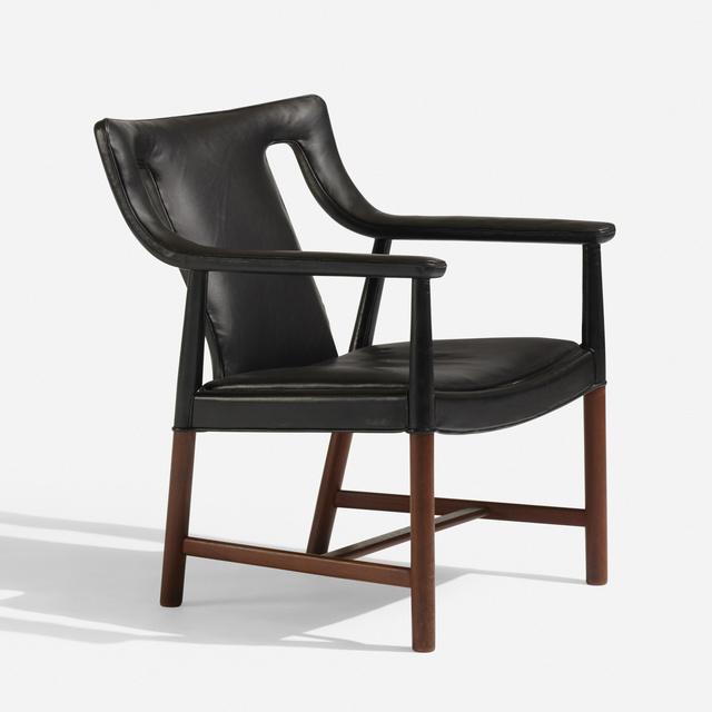 L. Pontoppidan, 'Lounge chair, LP48', 1956, Wright