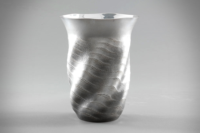 ", 'Silver Vase ""Sea Breeze"",' 1998, Onishi Gallery"
