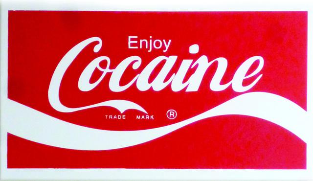, 'Enjoy Cocaine,' 2018, SGR Galería