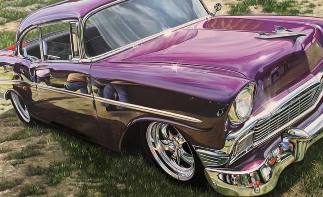 , 'Pink Chevy,' 2016, Bernarducci Gallery