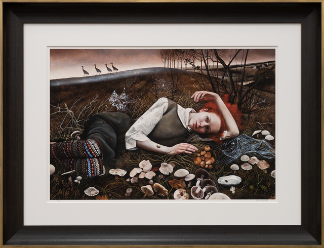 Andrea Kowch, 'The Merry Wanderers', 2021, Print, Limited Edition Print on Archival Paper, RJD Gallery
