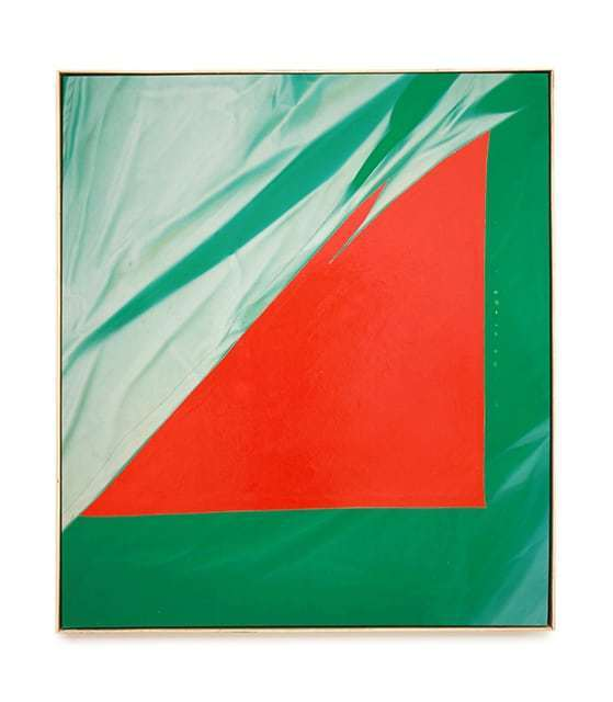 , 'Red on Green,' 2017, Halsey McKay Gallery