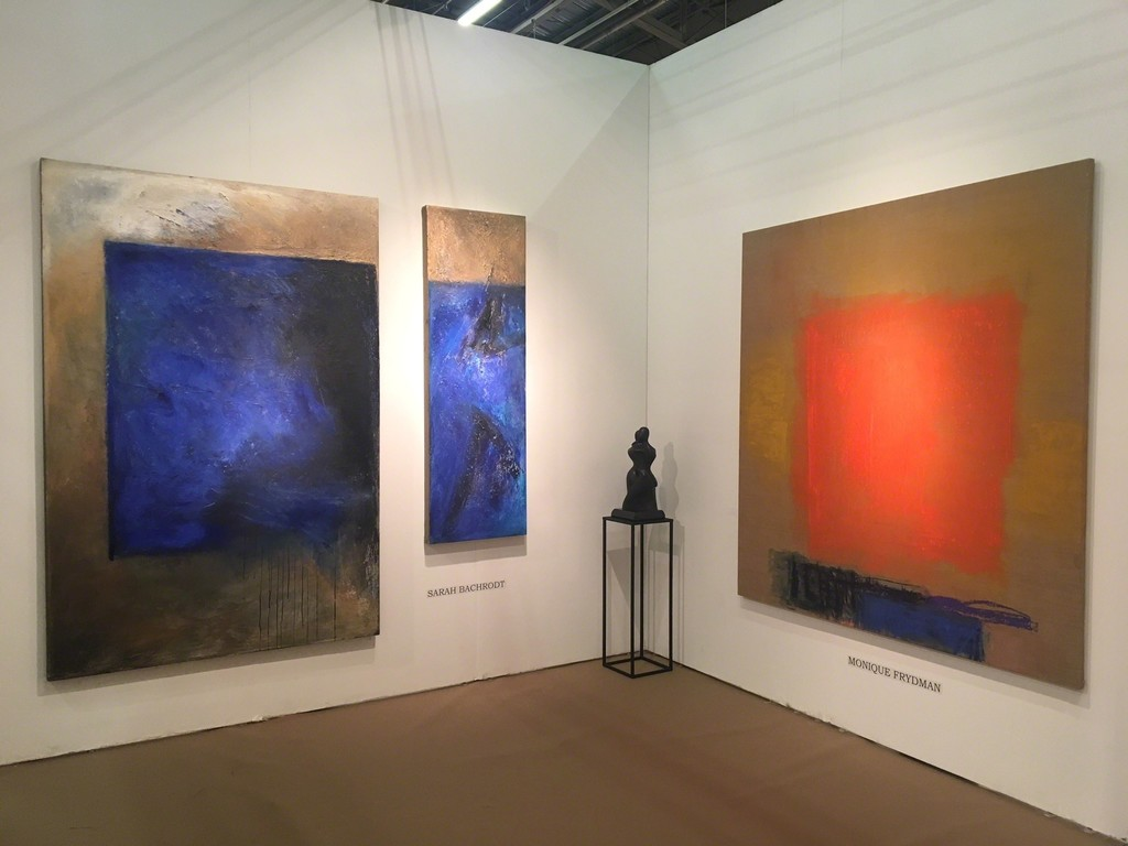 BOCCARA ART at Art New York 2018 - Monique Frydman, Sarah Bachrodt and Shary