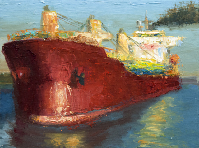 , 'Ruby of the Seas,' 2015, Susan Eley Fine Art