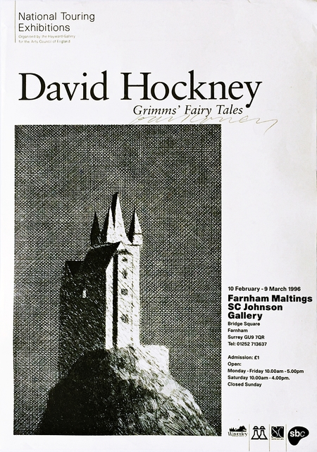 David Hockney, 'Grimms' Fairy Tales (Hand Signed)', 1996, Alpha 137 Gallery