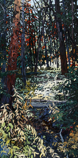 Deb Komitor, 'The Forest Embraces the Soul', 2016, Painting, Oil, Abend Gallery