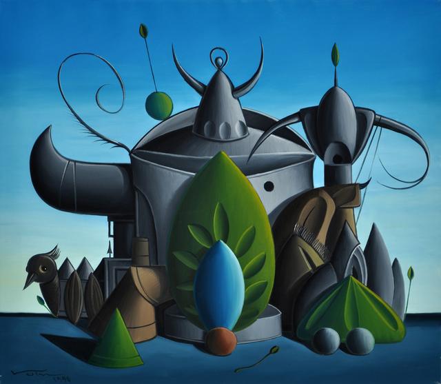 , 'Bird feeder,' 1990, Valley House Gallery & Sculpture Garden