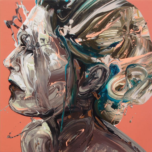 , 'Transcription 62 (She),' 2018, Joseph Nease Gallery
