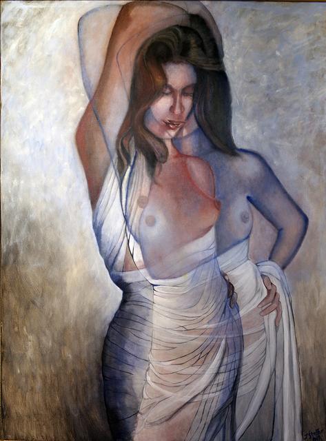John Shelton, 'Draped Nude Converging Dimensions', 2017, John Shelton American Art