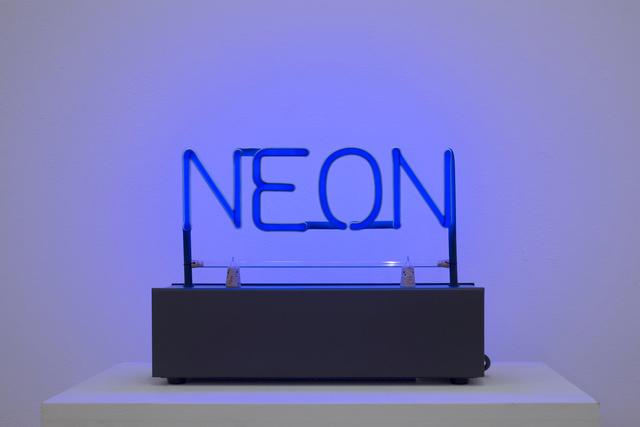 , 'Neon,' 1965, Galerie Krinzinger