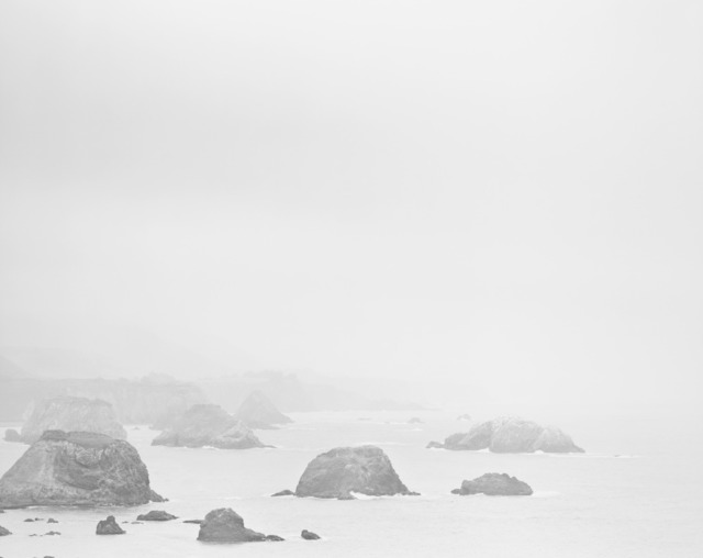 Chip Hooper, 'Mendocino County Coast, Pacific Ocean', 2009, Photography, Silver print, Robert Mann Gallery
