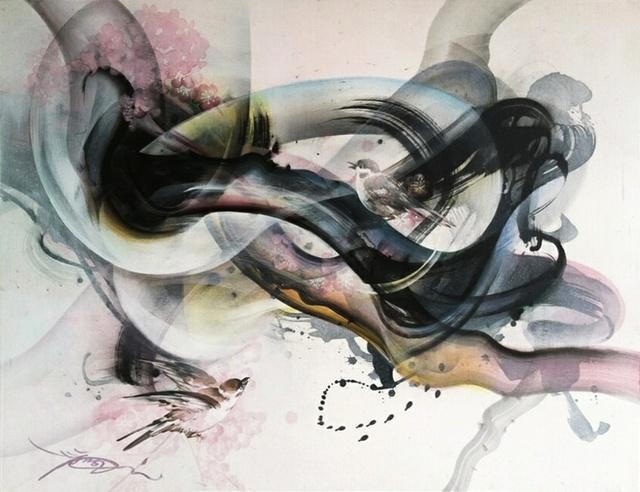 , 'Communications (Blush),' 2014, Susan Eley Fine Art