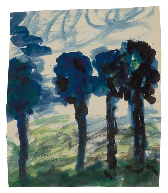 , 'Four Trees,' 1963, New York Studio School