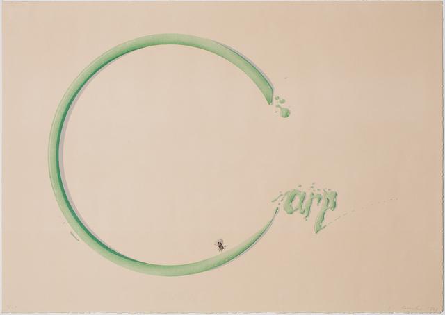 Ed Ruscha, 'Carp with Fly', 1969, ARCHEUS/POST-MODERN