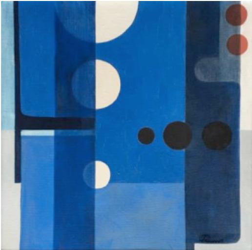 , 'Composicion en Azul ,' 1976, Leon Tovar Gallery