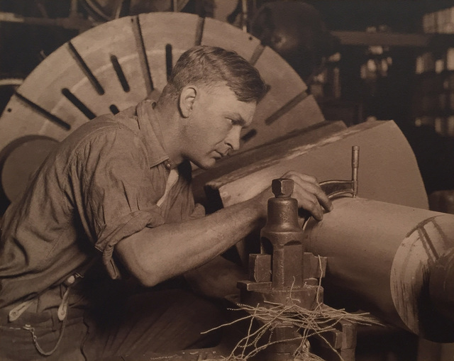 Lewis Wickes Hine, 'Man with Micrometer', ca. 1922, Jackson Fine Art