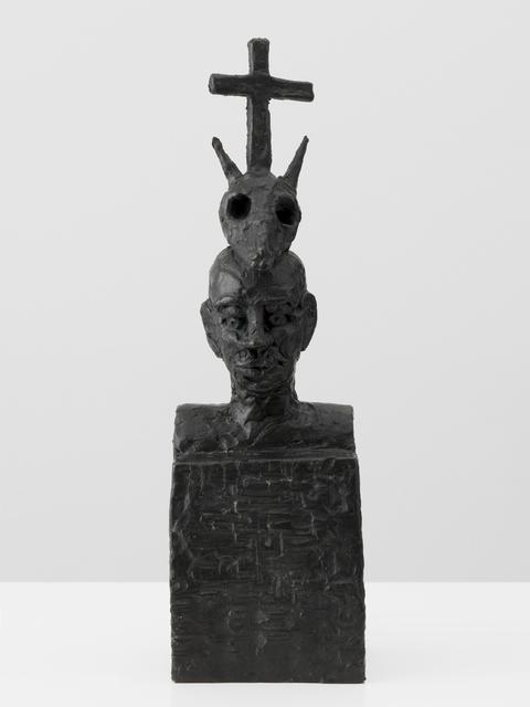 , 'Afrikanische Dreifaltigkeit,' 1986, Galerie Andrea Caratsch