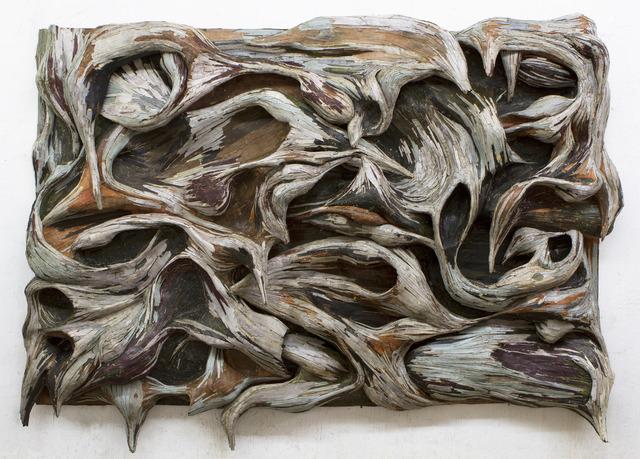 , 'Xilempasto 6,' 2013, Galeria Millan