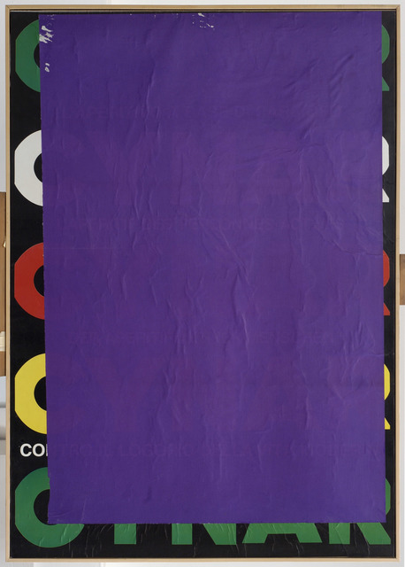 , 'Blank C blue violet,' 1980, Robilant + Voena