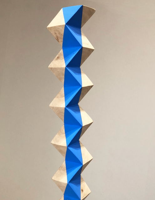 , 'Blue Stripe ,' 2016 , DENK Gallery