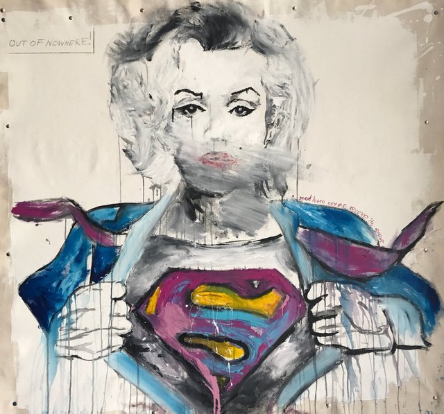 Hudson Luthringshausen, 'Supermanroe, out of nowhere', 2016, Marcel Katz Art