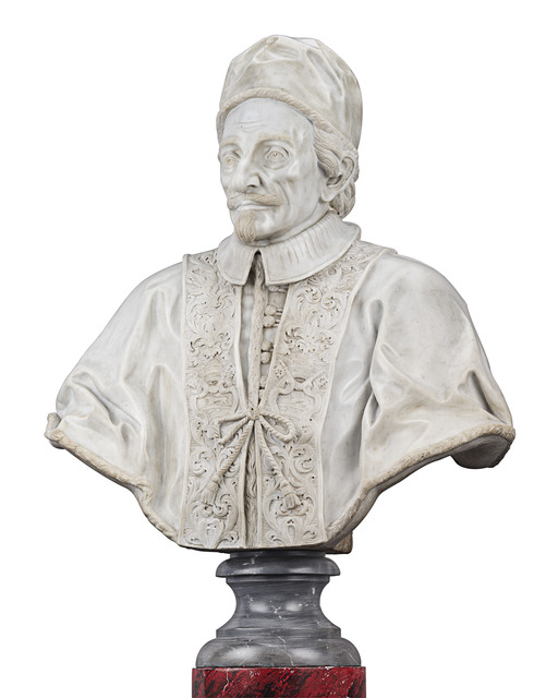 , 'Bust of Pope Innocent XI Odescalchi,' ca. 1690, M.S. Rau Antiques