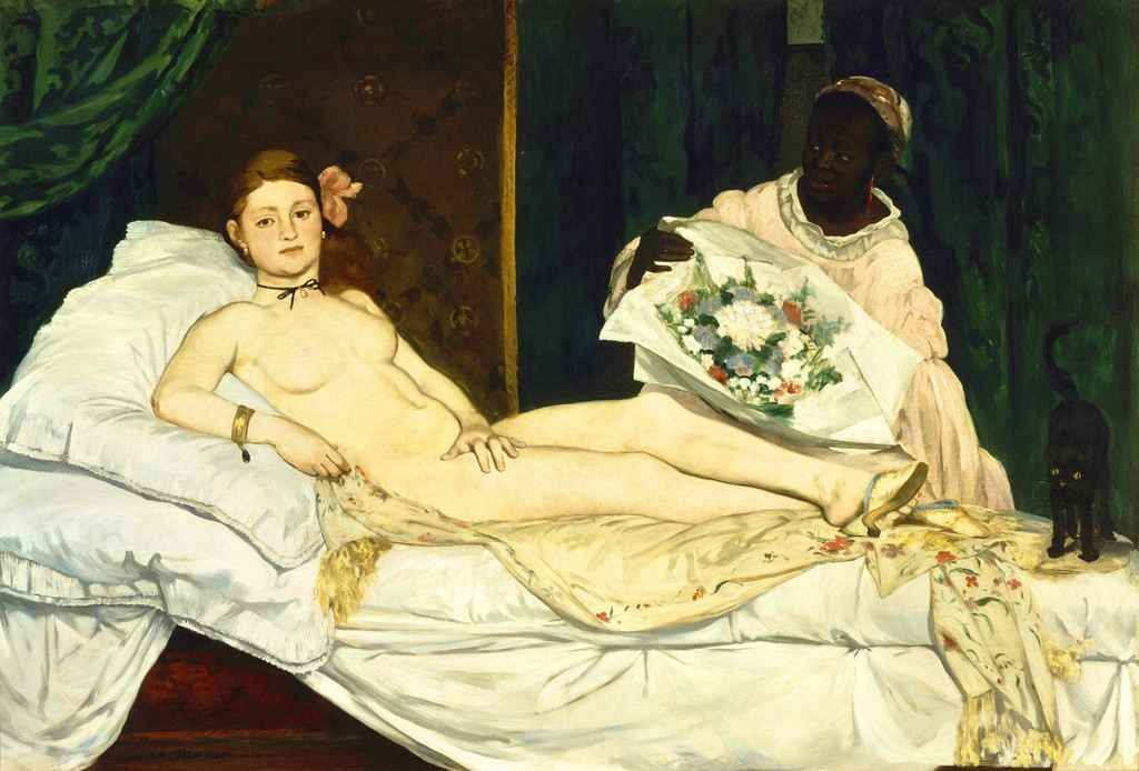 Édouard Manet, 'Olympia,' 1863, Musée d'Orsay