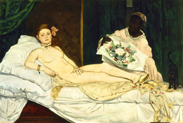 Édouard Manet, 'Olympia', 1863, Musée d'Orsay
