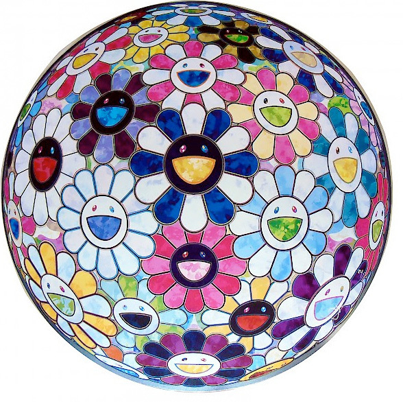 Takashi Murakami, 'Right There: The Breath of the Human Heart', 2013, Gallery Delaive