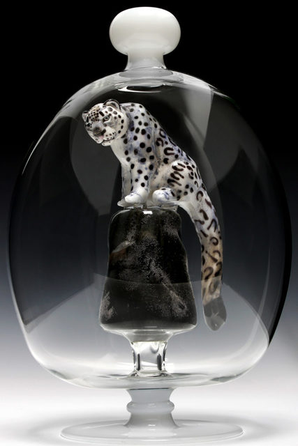 , 'Snow Leopard Bottle,' 2015, Chesterfield Gallery