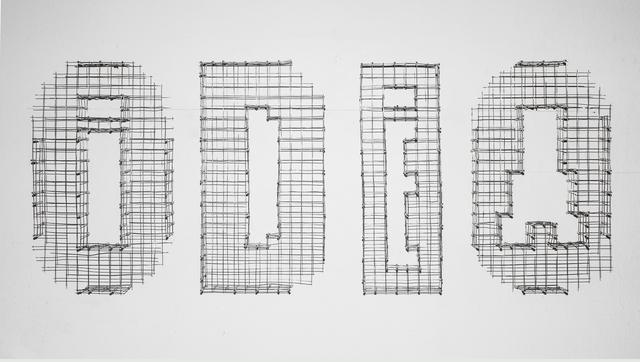 , 'Dispositivo cinetico tipográfico 004 (Odio\Idea),' 2017, Carmen Araujo Arte