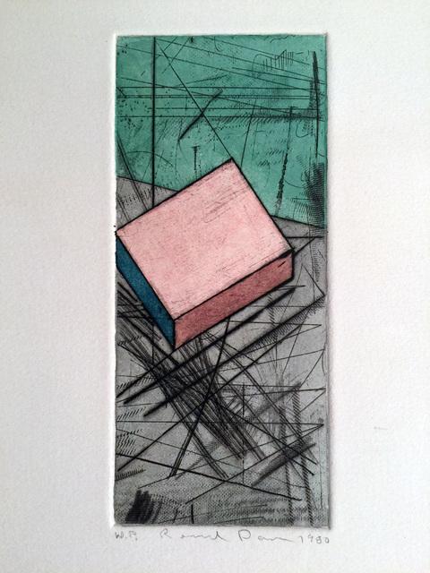 Ronald Davis, 'Drypoint Iota', 1980, David Lawrence Gallery