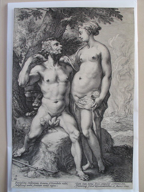 , 'The Loves of the Gods, a set of three,' ca. 1594, Jan Johnson Old Master & Modern Prints