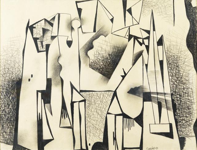 Caziel, 'Composition #43', 1951, Whitford Fine Art