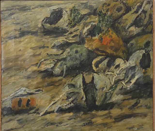 , 'Déchets 2,' 1952, Galerie Gabrielle Maubrie