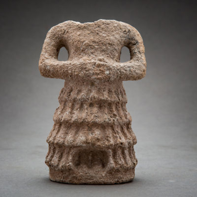 Unknown Sumerian, 'Sumerian headless male figurine', 3000 BCE-2300 BCE, Barakat Gallery