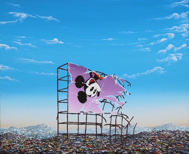 , 'New Mickey Inverted Landfill Billboard,' 2017, Gregorio Escalante Gallery