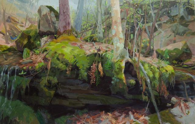 , 'Umbrella Magnolias, Boen Gulf,' 2015, Inman Gallery