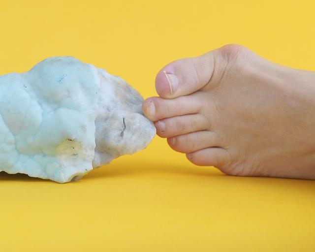 Maegan Hill-Carroll, 'Triangle Foot Hemimorphite hold', 2018, Wil Aballe Art Projects | WAAP