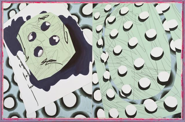 , 'Cuatroojos que se ahoga ,' 2015, Luis Adelantado