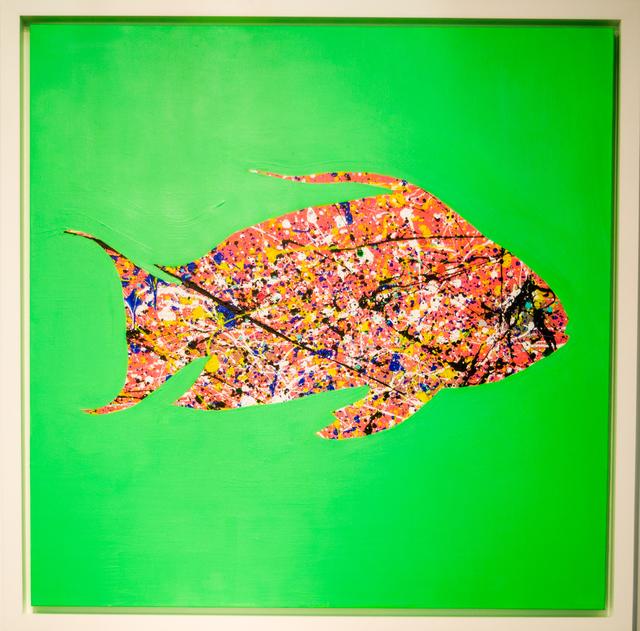 , 'Dropfish (Green),' 2016, David Benrimon Fine Art