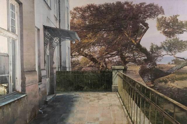 , 'Quegli odori resi un po' freddi dal crepuscolo,' 2016, Pontone Gallery