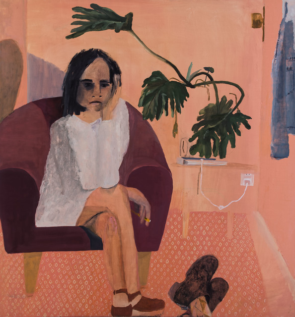 , 'Young Therapist,' 2019, Nancy Margolis Gallery