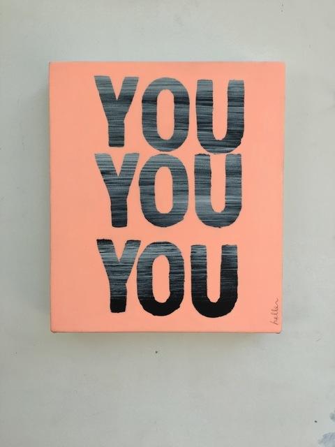 , 'You You You (Pink),' 2016, Heather Gaudio Fine Art