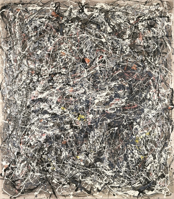 , 'Portrait of V.I. Lenin in the Style of Jackson Pollock V,' 1980, Museum Dhondt-Dhaenens