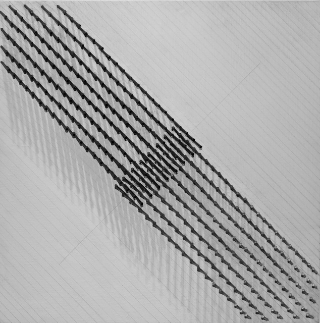 , 'Diagonale Struktur IV,' 1974, Galerie Leu