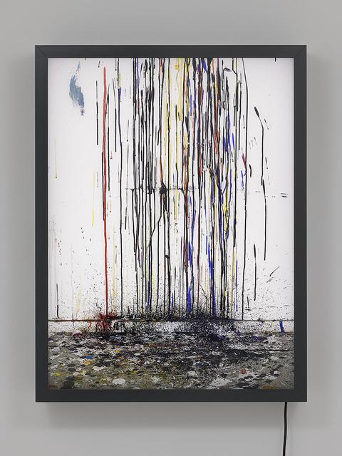 , 'Drips (Studio Wall),' 2015, Lisson Gallery