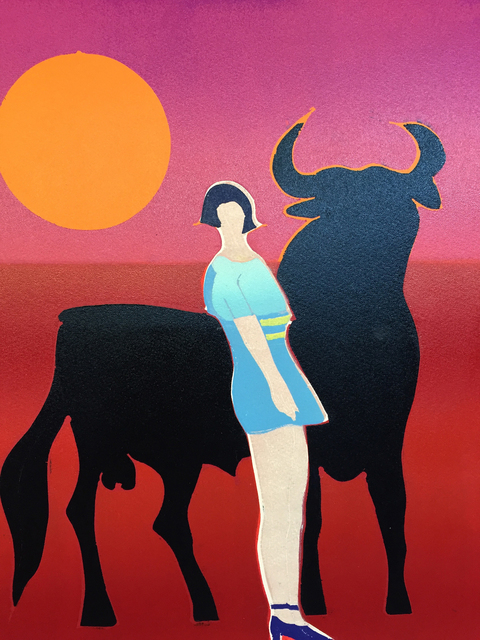 , 'Carmen and the Bull,' 2015, Christina Parker Gallery