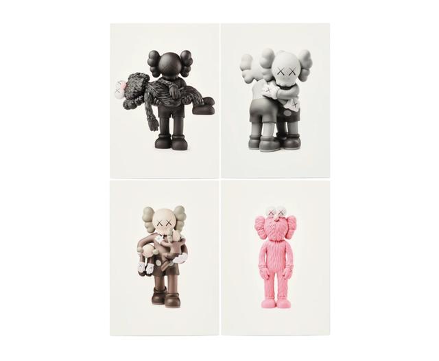KAWS, 'KAWS x NGV Postcard (Set of 4) (Vinyl Toys)', 2019, Curator Style