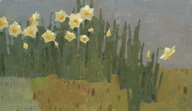 , 'Garden Daffodils,' 2018, Jonathan Cooper